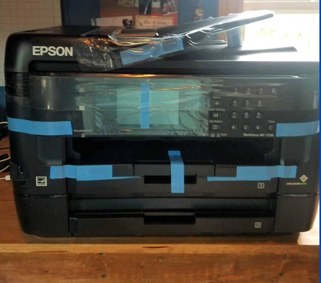 How do I convert my Epson WF-7720