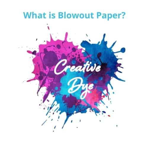 sublimation blowout paper
